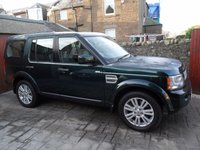2012 LAND ROVER DISCOVERY 3.0 4 SDV6 XS 5d AUTO 255 BHP £19000.00