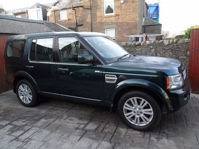 2012 12 LAND ROVER DISCOVERY 3.0 4 SDV6 XS 5d AUTO 255 BHP