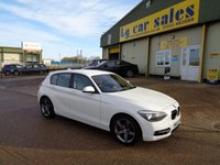 2013 BMW 1 SERIES 2.0 116D SPORT 5d AUTO 114 BHP £11495.00