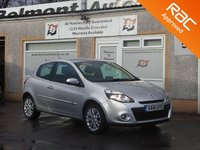 USED 2011 61 RENAULT CLIO 1.1 DYNAMIQUE TOMTOM 16V 3d 75 BHP Cruise control,Sattelight Navigation , Rain sensor and Airconditioning