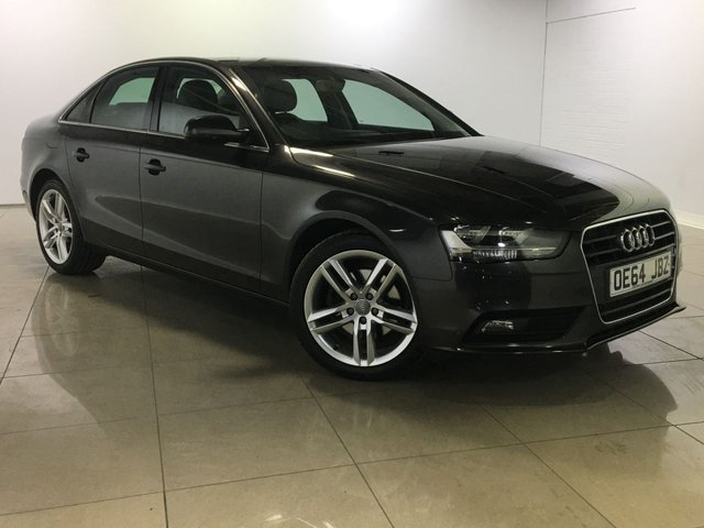 View our 2014 64 AUDI A4 2.0 TDI SE TECHNIK 4d AUTO 174 BHP