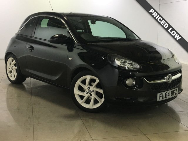 View our 2014 64 VAUXHALL ADAM 1.4 SLAM 3d 85 BHP