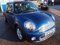 2012 MINI HATCH ONE 1.6 ONE 3d 98 BHP £6495.00