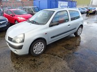 2003 RENAULT CLIO 1.1 EXTREME 2 AUTHENTIQUE 3d 75 BHP £495.00