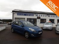 2011 RENAULT SCENIC 1.5 EXPRESSION DCI 5d 110 BHP £3000.00