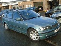 USED 2002 J BMW 3 SERIES 2.0 318I SE TOURING 5d 141 BHP GOOD HISTORY+MOT FEB 2019