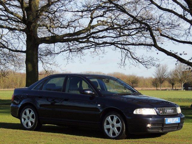 1999 AUDI A4 2.7 S4 QUATTRO 4d 262 BHP