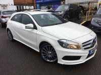 2014 MERCEDES-BENZ A CLASS 1.6 A200 BLUEEFFICIENCY AMG SPORT 5d AUTO 156 BHP