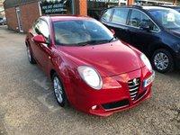 2011 ALFA ROMEO MITO 1.2 SPRINT JTDM-2 3 DOOR 95 BHP IN RED TRADE CLEARANCE CAR X DRIVING SCHOOL CAR. £2300.00