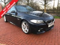 2014 BMW 5 SERIES 2.0 520D M SPORT 4d AUTO 181 BHP £13990.00