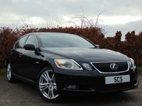 USED 2006 06 LEXUS GS 3.5 450H SE-L 4d AUTOMATIC * SATELLITE NAVIGATION * TOUCH SCREEN DIGITAL INTERFACE * BLUETOOTH *