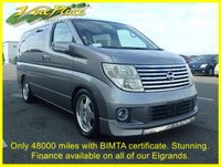 2005 NISSAN ELGRAND V 2.5 Automatic 8 Seats Facelift Only 48K Miles. Factory ISOFIX. £6500.00