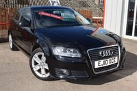 USED 2010 10 AUDI A3 1.6 TDI SPORT 3d 103 BHP ONLY £20 PER YEAR ROAD TAX !!!