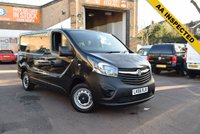 USED 2017 66 VAUXHALL VIVARO 1.6 L1H1 2700 CDTI BITURBO S/S 1d 125 BHP Here we have a 2017 Vx Vivaro L1 2700 1.6cdti biturbo 125 van in black with just 11000 miles. Great value at just £12499 + vat.