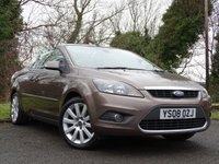 USED 2008 08 FORD FOCUS 2.0 CC3 2d  ***READY FOR SUMMER***