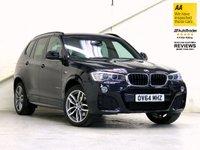2014 BMW X3 2.0 XDRIVE20D M SPORT 5d AUTO 188 BHP £21887.00