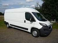 USED 2018 68 PEUGEOT BOXER 68 L4 Blue HDI Professional Euro 6 model Available in White or Silver at cost option