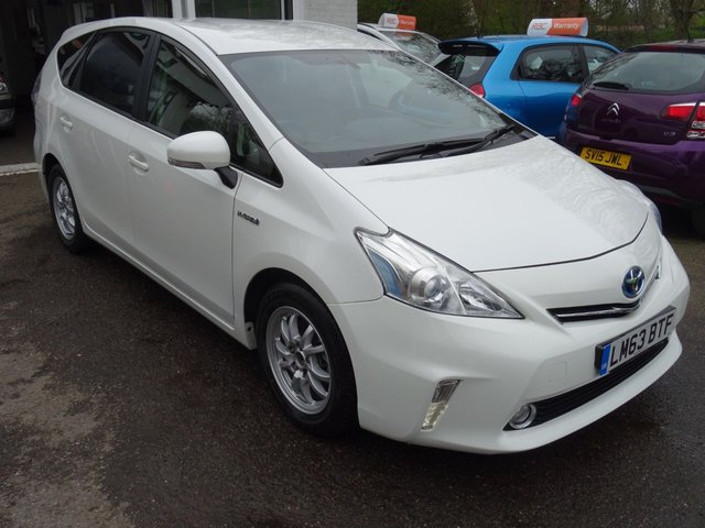 2013 63 TOYOTA PRIUS+ (PLUS) 1.8 ICON 5d SELF-CHARGING HYBRID AUTOMATIC 7 SEATER 99 BHP
