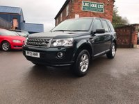 USED 2013 13 LAND ROVER FREELANDER 2.2 TD4 GS 5d 150 BHP Full Land Rover History
