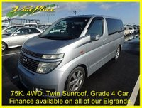 2002 NISSAN ELGRAND Highway Star 3.5 Automatic 8 Seats 4 Wheel Drive Panaromic Roof £5750.00