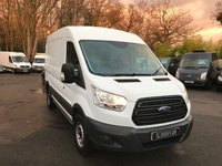 USED 2015 64 FORD TRANSIT 2.2 T350/125 L2H2 Medium Wheel Base, Medium Roof, One Owner