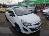 USED 2013 63 VAUXHALL CORSA 1.2 LIMITED EDITION 3d 83 BHP 1 OWNER... FULL SERVICE HISTORY... JUST ARRIVED