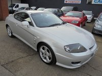 2005 HYUNDAI COUPE 2.0 SE 3d 141 BHP £2290.00