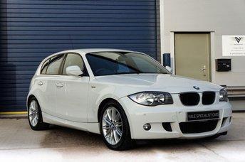 2011 BMW 1 SERIES 2.0 116I M SPORT 5d 121 BHP £9500.00