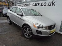 "USED 2012 62 VOLVO XC60 2.4 D4 SE LUX NAV AWD 5d AUTO 161 BHP 18""Alloys+Navigation+Bluetooth+History"
