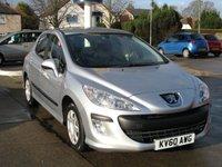 2010 PEUGEOT 308 1.6 S 5d 120 BHP £3495.00