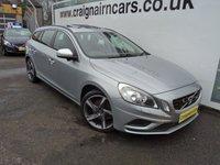 2012 VOLVO V60 2.0 D3 R-DESIGN 5d 161 BHP £10495.00