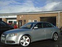 2005 AUDI A4 2.0 T FSI QUATTRO S LINE 4d 200 BHP £3495.00