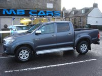 "USED 2013 13 TOYOTA HI-LUX 2.5 HL3 4X4 D-4D DCB 1d 142 BHP 1 OWNER FROM NEW, ""NO VAT"""