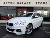 USED 2015 15 BMW 2 SERIES 2.0 220I M SPORT ACTIVE TOURER 5d AUTO 189 BHP ** TECH PK * NAV * HUD * PAN ** ** PAN ROOF * NAV + * HUD **