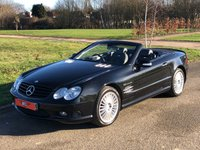USED 2003 03 MERCEDES-BENZ SL 5.4 SL55 AMG KOMPRESSOR AUTO 500 BHP 2 DR CONVERTIBLE PAN ROOF+KEYLESS START+FSH+ INVESTMENT