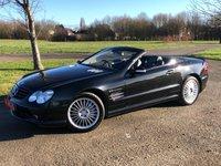 2003 MERCEDES-BENZ SL 5.4 SL55 AMG KOMPRESSOR AUTO 500 BHP 2 DR CONVERTIBLE £13250.00