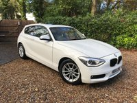 2015 BMW 1 SERIES 1.6 116D EFFICIENTDYNAMICS 3d 114 BHP £11489.00