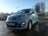 USED 2013 63 KIA PICANTO 1.0 2 5d 68 BHP FREE 6 MONTHS RAC WARRANTY AND FREE 12 MONTHS RAC BREAKDOWN COVER