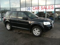 USED 2008 08 LAND ROVER FREELANDER 2.2 TD4 SE 5d 159 BHP FREE 6 MONTHS RAC WARRANTY AND FREE 12 MONTHS RAC BREAKDOWN COVER