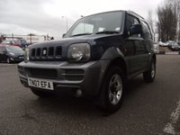 USED 2007 07 SUZUKI JIMNY 1.3 JLX PLUS 3d 83 BHP FREE 6 MONTHS RAC WARRANTY AND FREE 12 MONTHS RAC BREAKDOWN COVER