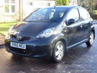 2010 TOYOTA AYGO 1.0 BLACK VVT-I MM 5d AUTO 67 BHP £4500.00