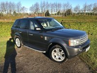 2006 LAND ROVER RANGE ROVER SPORT 2.7 TDV6 HSE 5d AUTO 188 BHP Full Service History, MOT 02/19, Recent Service £8249.00