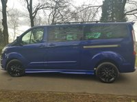2015 FORD TOURNEO CUSTOM 2.2 300 TDCI 125 BHP 9 SEAT BUS RS STYLING PACK  £16750.00
