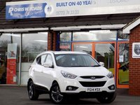 USED 2014 14 HYUNDAI IX35 1.6 GDI SE 5d 133 BHP *ONLY 9.9% APR*