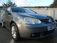 2007 VOLKSWAGEN GOLF 1.6 MATCH FSI 5d 114 BHP £3699.00