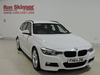 USED 2015 64 BMW 3 SERIES 2.0 318D M SPORT TOURING 5d 141 BHP
