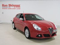 USED 2015 65 ALFA ROMEO GIULIETTA 1.6 JTDM-2 BUSINESS EDITION 5d 120 BHP with heated front seats