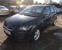 USED 2007 07 FORD FOCUS 1.6 ZETEC CLIMATE 5d 100 BHP