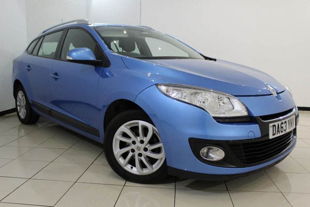 View our 2013 63 RENAULT MEGANE 1.5 EXPRESSION PLUS ENERGY DCI S/S 5DR 110 BHP