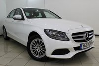 USED 2014 64 MERCEDES-BENZ C CLASS 2.0 C200 SE 4DR 184 BHP FULL MERCEDES SERVICE HISTORY + LEATHER SEATS + REVERSE CAMERA + BLUETOOTH + CRUISE CONTROL + MULTI FUNCTION WHEEL + 16 INCH ALLOY WHEELS